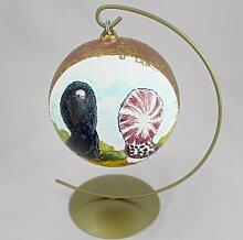 Perücken Taube (second), Vogel Kugel mit Ständer
