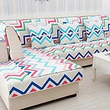 Pet-couch abdeckungen,Sessel hussen Couch protector Couch kissenhüllen Sectional sofa deckt Schnittsofa deckt Sofa für 3 kissen deckt-E 90x90cm(35x35inch)