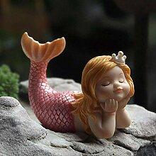 PET HOUND Zuhause Dekoration Garten Skulptur Figur
