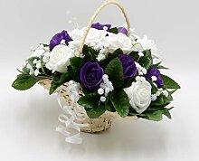 Petals Polly Künstlicher Ansteckstrauß, Flower