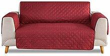 PETCUTE Sofabezüge 2 Sitzer Gesteppte Sofahusse