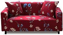 PETCUTE Sofaüberwurf 2 Sitzer Elastischer Sofa