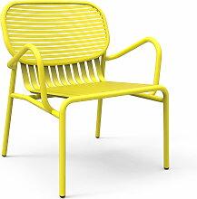 Petite Friture - Week-End Outdoor-Sessel, gelb