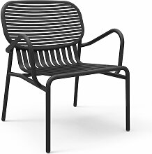 Petite Friture - Week-End Outdoor-Sessel, schwarz