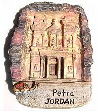 Petra Jordan Famous Landmark 3D Resin TOY Fridge Magnet Schiff frei