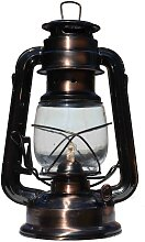 Petroleumlampe 24cm - Kupfer
