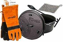 Petromax ft3 Feuertopf mit Füße Dutch Oven Set