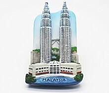 Petronas Twin Towers Malaysia Asia 3D Resin TOY Fridge Magnet Schiff frei