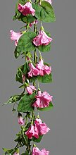 Petunie Petuniengirlande Girlande Seidenblume rose