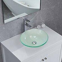 PetusHouse Badezimmer-Gefäß aus mattiertem