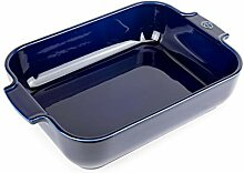 Peugeot 60077 Appolia Auflaufform, Keramik, blau