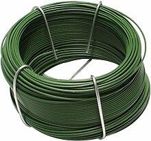 pewag Blumendraht kunststoffummantelt, 1,20 mm, 50 Meter Bund, grün, 79873
