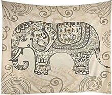 peyan Mandala Wandteppich für Art Home Dekoration 129,5x 152,4cm Tapestry 12