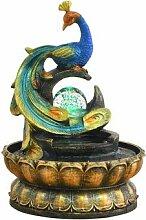 Pfau Neue Chinesische Stil Brunnen Feng Shui Ball