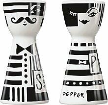 Pfeffer & Salz Andrea Arnolt 2017 / Ritzenhoff / Mr. Salt & Mrs. Pepper / Salzstreuer + Pfefferstreuer