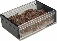 Pfeifentabak Humidor Acrylglas Airsystem inkl. Lifestyle-Ambiente Tastingbogen
