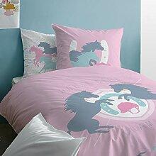 Pferde Bettwäsche für Mädchen Biber ·