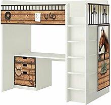 Pferdestall Möbelfolie - SH13 - passend für die