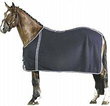 PFIFF Wolldecke Paradeform, blau 125cm