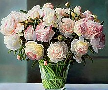 Pfingstrose Blume Diamant Malerei 5D DIY Voll