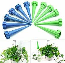 Pflanze Bewässerung Pflanzen wasser Gießkanne–12Gartenbewässerung Kits Pflanzen Wasser Blume Wasser Steuerung Bewässerung Flasche Bewässerung Spike Drip System Kits–Wasser Pflanzen