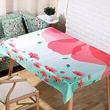 Pflanze Druck Tischdecke Leinen Rechteck Küche Dekorateur Tischdecken , c , 140*140cm