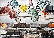 Pflanze Golden Flower Lines Wallpaper Tapete