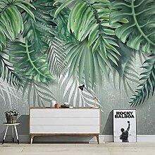 Pflanze grünes Blatt 3D Fototapete Dekoration