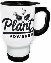 Pflanze Schwarz Angetrieben Weiß Thermischer
