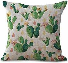 Pflanze Serie Farbe handbemalte Baumwolle / Leinen