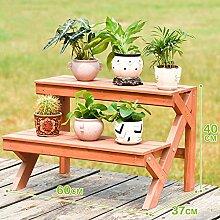 Pflanze-ständer Pflanze topfuntersetzer, Massivholz Blumenregal Bodenstehende Multilayer Pflanze stand regal hält Folding Leiter-förmige anlage blumenständer Perfekt für zu hause Garten Terrasse-F