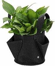 Pflanze Wachsende Tasche 2mm Ultra Thick Black
