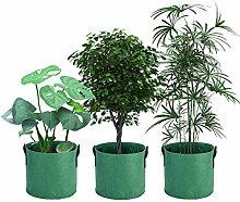 Pflanze Wachsende Tasche Gallone Filz Vlies Töpfe