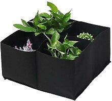 Pflanze Wachsende Tasche Sub-Grid Garten