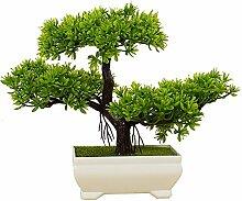 Pflanzen Dekoration Künstliche Bonsai Zeder BüRo