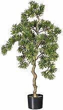 Pflanzen Kölle Kunstpflanze Podocarpusbaum grün,