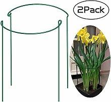 Pflanzen-Rankhilfe für den Käfig, halbrund,