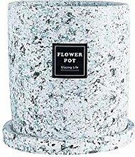 Pflanzen-Säer-Blumentopf Terrazzo-Quadrat saftig