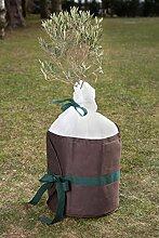 Pflanzenkübelschutz dekorativ Ø 60 cm Pflanzenschutz Frostschutz Pflanzschutz