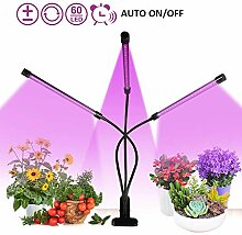 Pflanzenlampe 30W, 60 LED Pflanzenlampe Grow Lampe