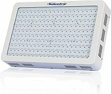 Pflanzenlampe 600w, Roleadro Led Grow Light Lampe mit UV IR Licht Wachstumslampe für Zimmerpflanzen Hydroponic im Grow Zelt Gewächshaus Blume und Gemüsse