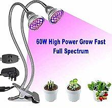 Pflanzenlampe, LED-Grow-Lampe, Full Spectrum Dual