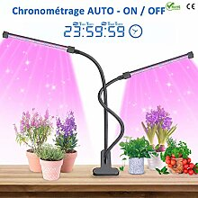 Pflanzenlampe mit Garten Werkzeug Sätzen 7pcs,