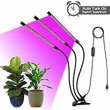 Pflanzenlampe- Three Head 60 LED
