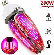 Pflanzenlampe Wasserdicht 200W 480 LEDs