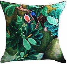 Pflanzenmalerei Umarmung Kissenbezug Sofa