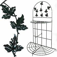 Pflanzenregal aus Metall, klappbar. Blumentreppe, Rankhilfe, Blumenregal, Pflanzentreppe, Regal Treppe Garten …