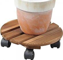 Pflanzenroller für den Außenbereich geeignet D. 35cm aus Holz Kesper (12,50 EUR / Stück)