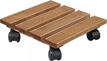 Pflanzenroller quadratisch für den Außenbereich geeignet 35x35cm aus Holz Kesper (12,95 EUR / Stück)