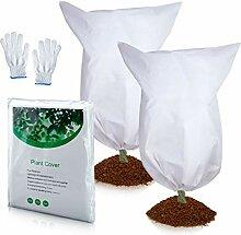 Pflanzenschutz, Frostschutz, 2 Stück,